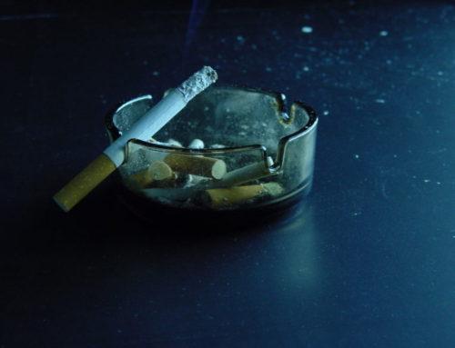 Geruchsbeseitigung im Raucherraum